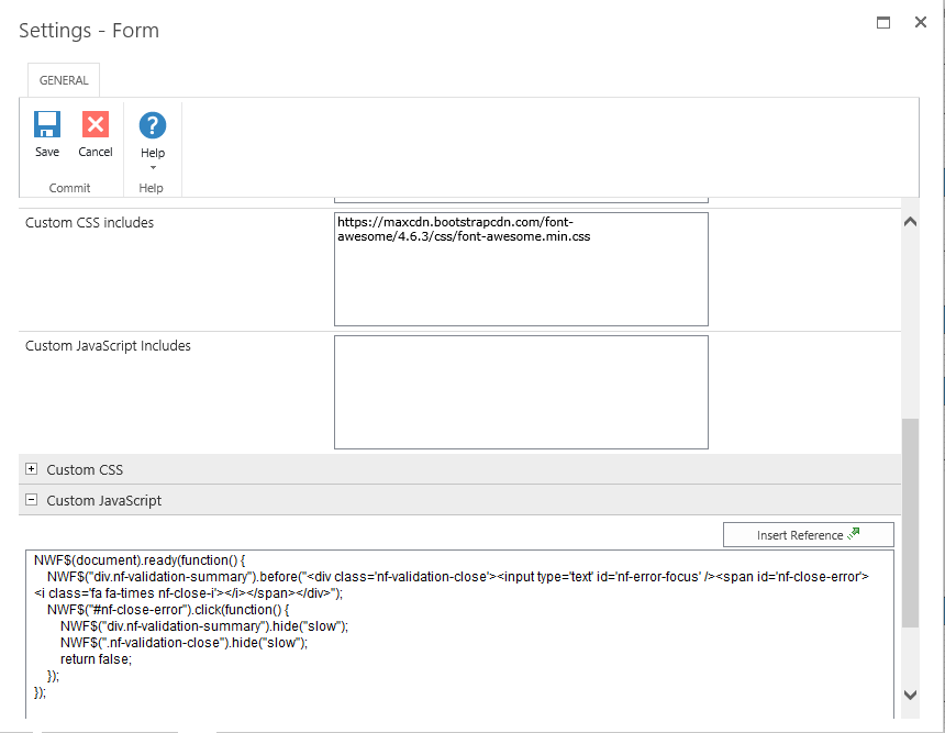 Nintex form error messages by Deepak Virdi