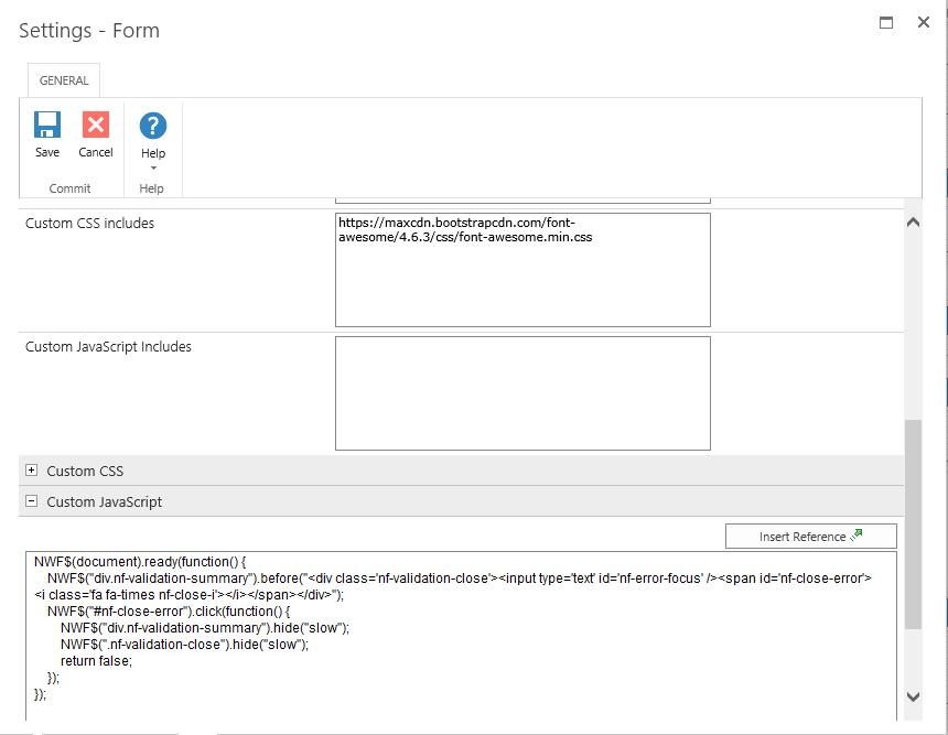 Nintex form error messages by Deepak Virdi